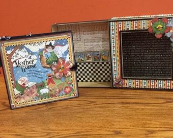 Mother Goose Graphic 45 Baby Scrapbook Album
