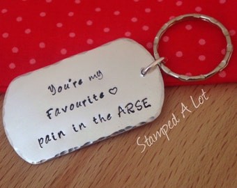 funny gift, funny kering, anniversary gift for men, for husband, gifts for boyfriend, funny gifts for him , personalized keychain for him