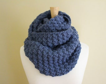 Crochet PATTERN - Crochet infinity scarf pattern - Crochet cowl pattern - Crochet snood pattern - Beginner crochet pattern - Crochet supply