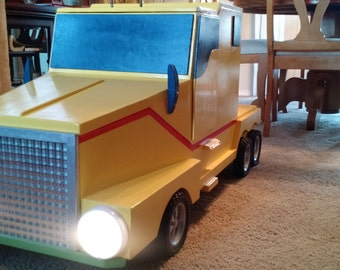 Semi Truck Toy Box