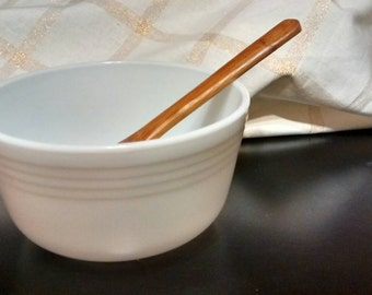 Vintage Pyrex Milk Glass Bowl #10