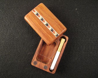 Latest! Swivel Teak Dugout  by Sneak A Toke-Small