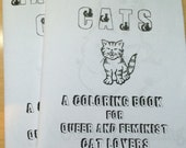 Radical Cats: A Coloring Book for Queer and Feminist Cat Lovers