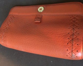 Vintage Cole Haan Leather Bag Purse Clutch