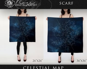 Celestial Map - Scarf