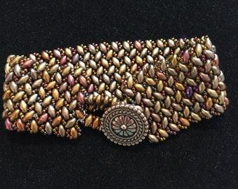 Herringbone Weave Bracelet