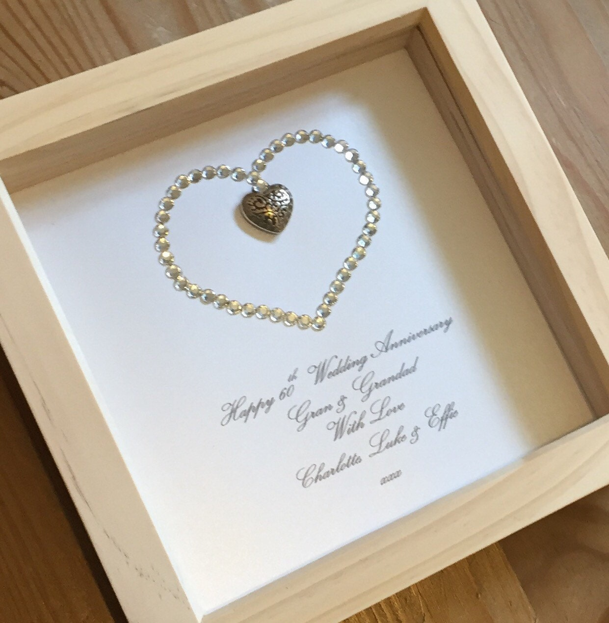 Gifts For 60th Wedding Anniversary: 15th Wedding Anniversary Gift 60th Wedding By