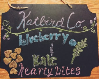 Kale and Blueberry Hearty Bites