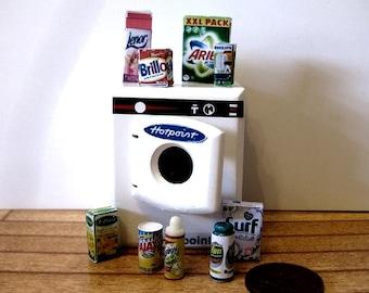 DOLLS HOUSE MINIATURE  washing machine