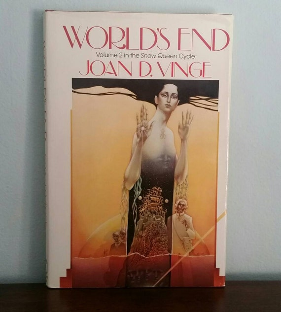 World's End, Volume 2 in the Snow Queen Cycle by Joan D. Vinge, vintage sci fi book