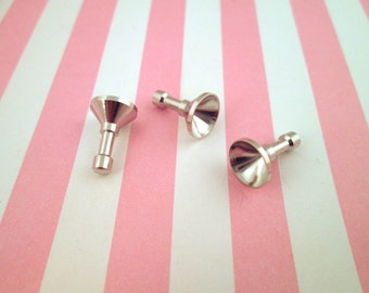 10mm Bezel Cell Phone Dust Plug/ Earphone Jack Plug #1058