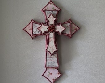 French/Vintage Stacked Crosses