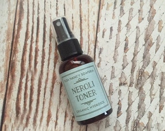 Organic Neroli  Hydrosol, Orange Blossom Hydrosol,Hydrating Toner, Facial Toner