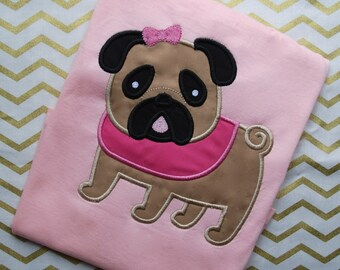 Pug Shirt, Pug Onesie, Dog Shirt, Dog Onesie, Pug Birthday Shirt, Animal Shirt,