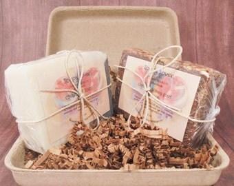 Soap set, variety soap pack, gift set, bath and body kit, natural soap, handmade soap, cold process soap, soap gift, spa soap, spa gift