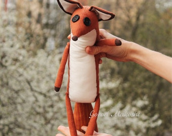25 cm The FOX - SUPERSALE - 45 usd not 51 - original plush little toy - The serie Prince