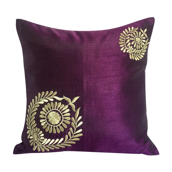 Purple Decorative Pillow Purple Pillows Purple Couch Pillow
