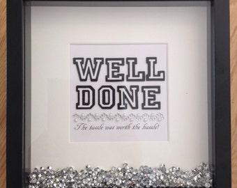 Graduation Congratulations Framed Print