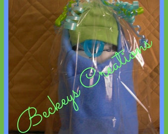 Diaper Swaddle Baby