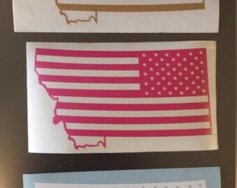 Montana SWAG die cut vinyl decal