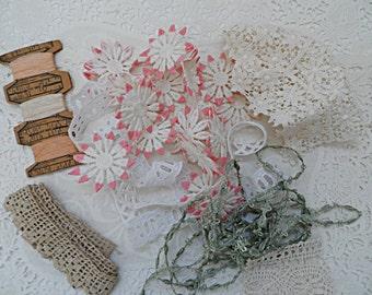 Bits & Pieces Trim~Lace~Misc. Lot