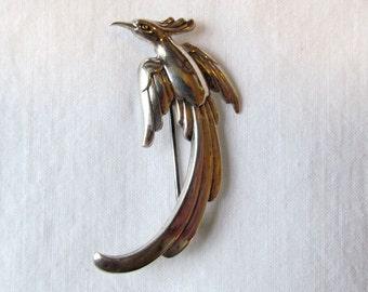 Forstner Sterling Bird Pin