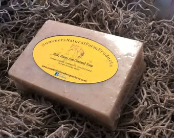 Goat Milk, Raw Honey and Oatmeal Soap