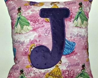 Custom Personalized Princess Pillow