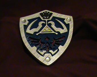 custom 3d printed zelda shield