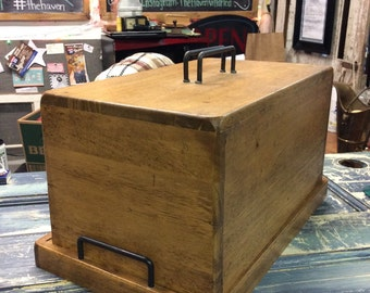 Amazing Bamboo or Acacia Wood Bread Box, Made in Thailand!