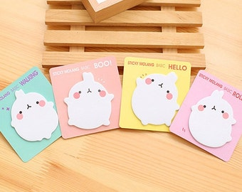 Cute MOLANG Sticky Note