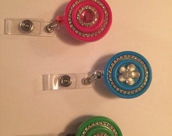 Flat Back Retractable Badge Reel