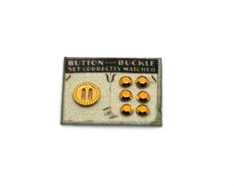 Buckle & Button Card Set