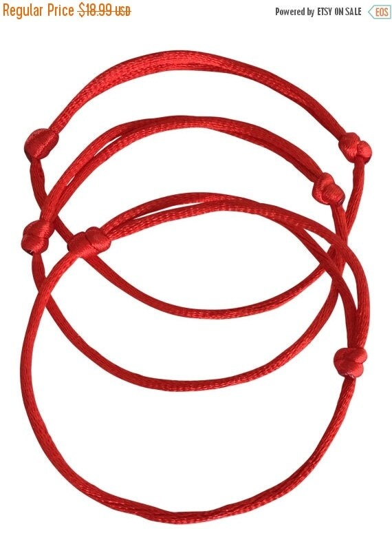 Kabbalah red string of faith bracelet for good luck and protection a perfect gift to share with loved ones.  *** BUY 1 GET 1 FREE***