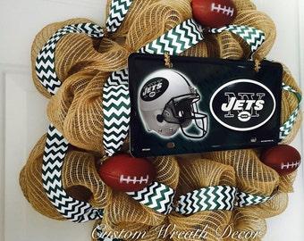 New York Jets Wreath, Jets Wreath