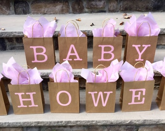 Baby Shower Party Favor Bags, Baby Shower Bags