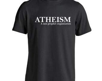 Atheism Funny Humor Pride Atheist Men's T-Shirt DT1237