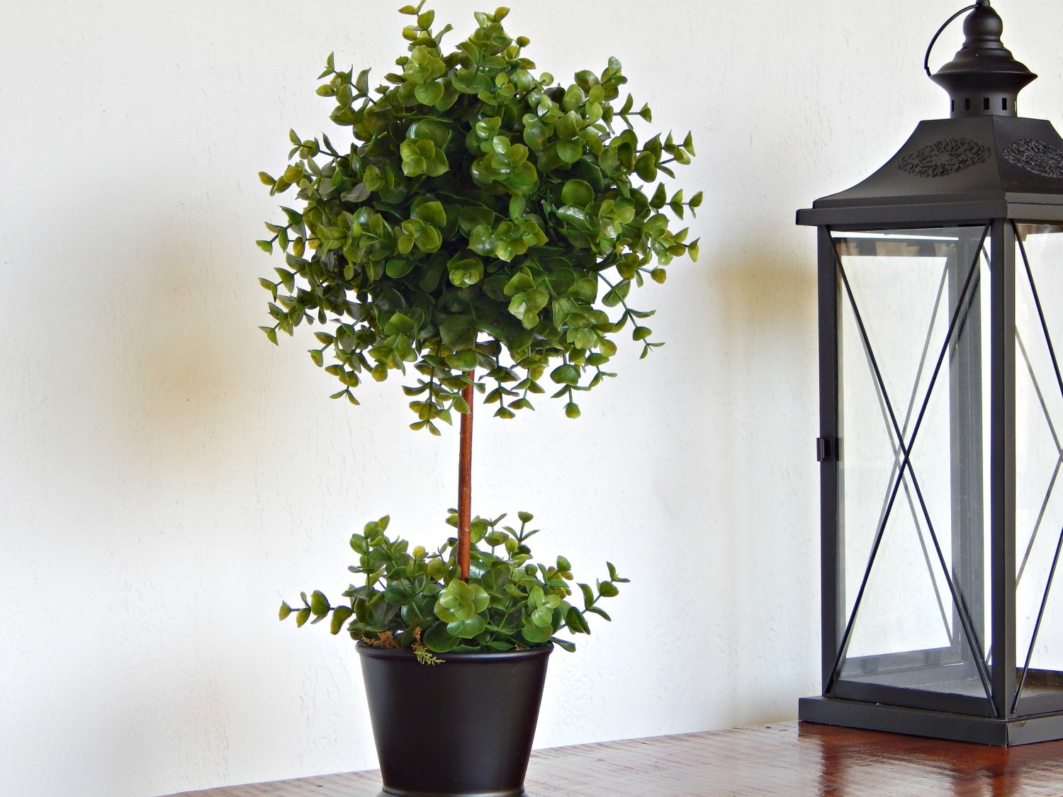 topiary tree topiaries artificial plant faux by. Black Bedroom Furniture Sets. Home Design Ideas