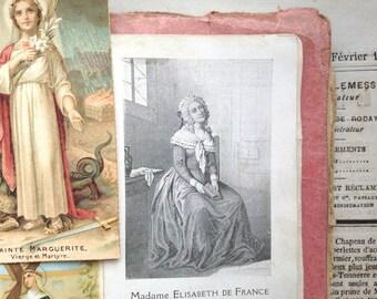 Set of 12 antique 1800-1900s holy cards, mother mary, prayer, mixed media, vintage bride, french ephemera, paper Catholic Christian