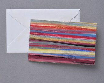 Stripped Gift Card with Envelope