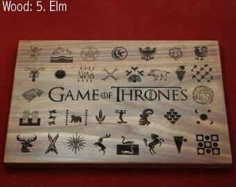Game of Thrones houses.  Heraldry