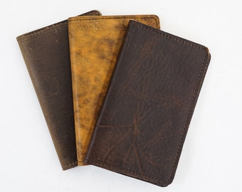 Field Notes Cover, Leather Journal Cover, Field Notes Notebook, From Assorted Oil Tanned #144-41102
