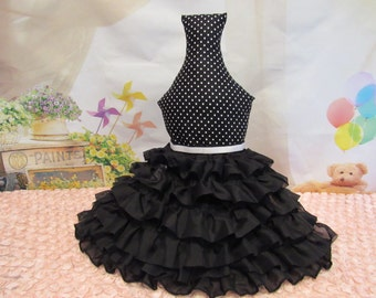 Black Petticoat for Dogs, Dog Dresses, Dog Clothing, Dog skirts, Dog Accessories,Pet Accessories, Petticoats for Dog Dresses