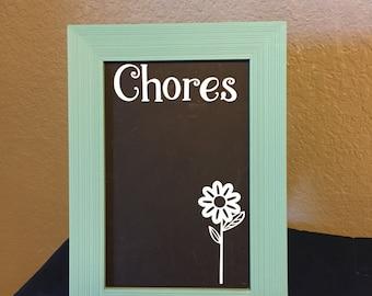 Chores Chalkboard