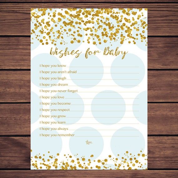 wishes for the baby pdf