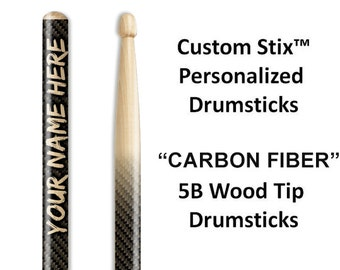 Custom Drumsticks with Attitude!  One pair with each order. Great gifts for drummers and musicians.