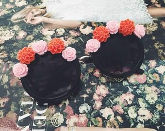 Coachella Inspired Floral Sunglasses