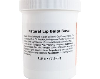 Natural Lip Balm Base