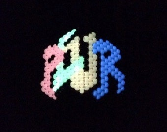 Plur Kandi Mask (glow in the dark)