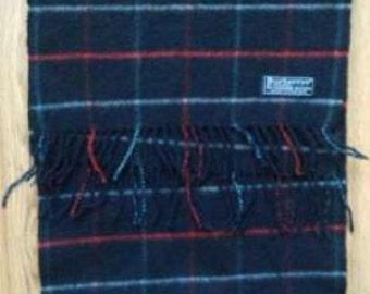 Burberry cashmere blue men's scarf